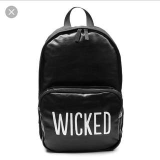 🚚 Penshoppe wicked black backpack