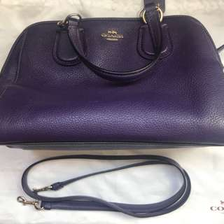 Coach cross shoulder bag 則揹袋,可手挽