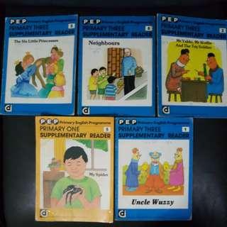 Primary school supplementary reading books