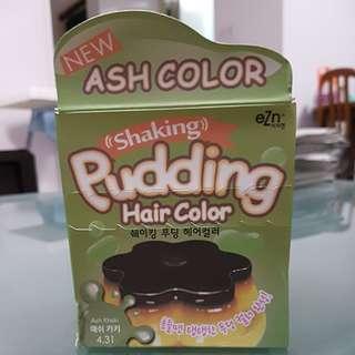 "BNIB [ASH KHAKI] ""Shaking"" Pudding Hair Color"