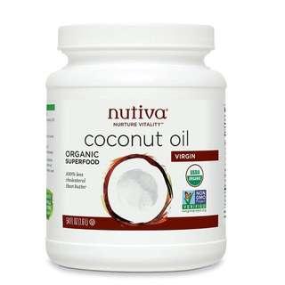 Jumbo Size Nutiva Organic Coconut 🌴 🥥 oil