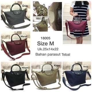 NEW!!! Longchamp sling bag tas import wanita