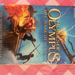 Heroes of Olympus - The Mark of Athens