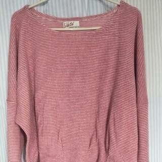 Sweater Stripe Pink