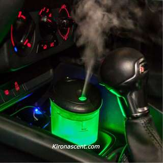 CAR MIST DIFFUSER. Aromatherapy Usb Humidifier & Air Purifier. 7 LED Lights Selection.Air Atomizer