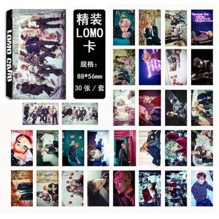 BTS WINGS LOMOCARD