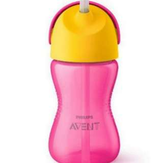 Philips Avent My Bendy Straw Cup - PINK