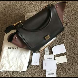 Celine trapeze medium rush sale