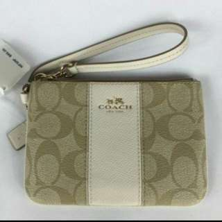 AUTHENTIC COACH WRISTLET (BRAND NEW)