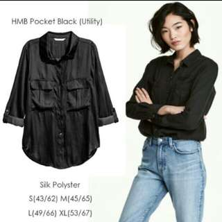 Hnm pocket black