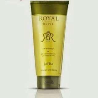 Jafra royal olive bath shower