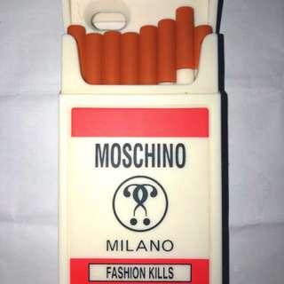 Moschino Cigarette Casing Rokok Smoke Smoking iphone 6