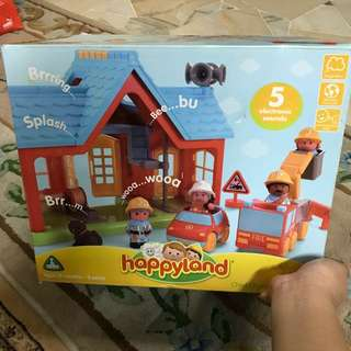 ELC Happyland Chief Charlie's Fire Station