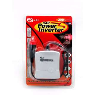 E & E Car Power Inverter  200watts