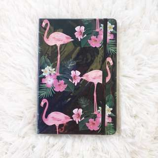 Flamingo Design Black Journal