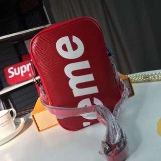 Premium Supreme LV Sling Bag