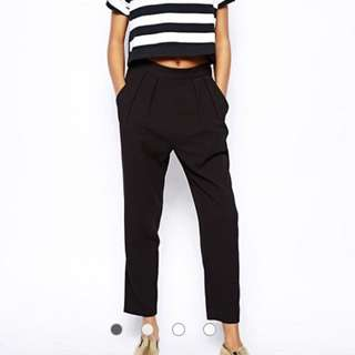 Monki Tapered Pants Trousers