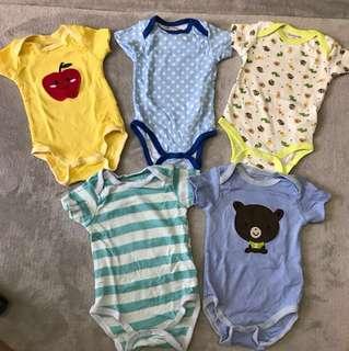 Mix 3&6-months Baby's Romper