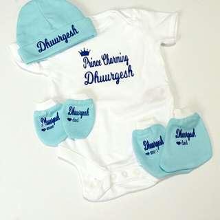 Personalised Baby Romper