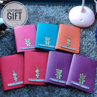 Personalised Passport Holder , Personalized Passport Cover / Customized Passport Holder / Personalised Gift