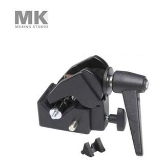 SELENS SUPER CLAMP WITH SPIGOT FOR BALL HEAD AND LIGHTING