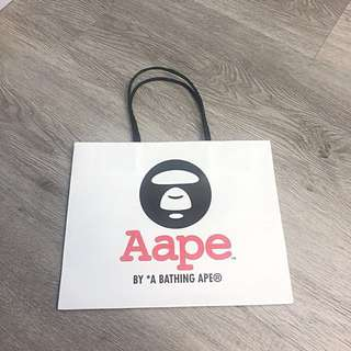 Aape by A Bathing Ape Paper Bag