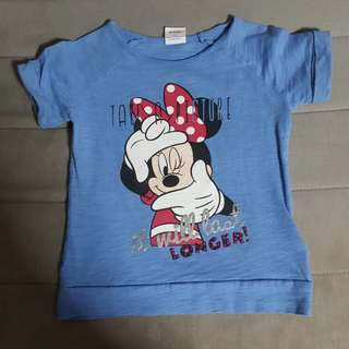 Preloved Minnie Mouse top