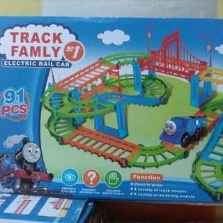 Rail Track Car
