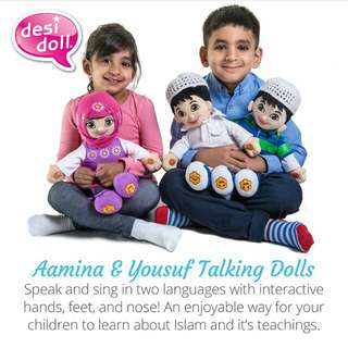Talking Muslim Doll