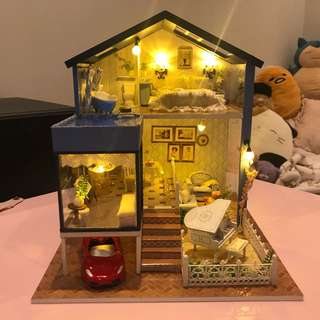 handmade miniature house