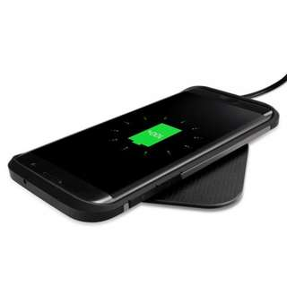 SPIGEN Ultraslim Wireless Charger (5W) Qi Wireless Charging Pad for iPhone X / 8 / 8 Plus, Samsung Galaxy Note 8 / S8 / S8 Plus / S7 / S7 Edge and All Qi-Enable Phones @ Yishun