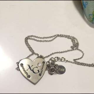 X-girl necklace 頸鏈