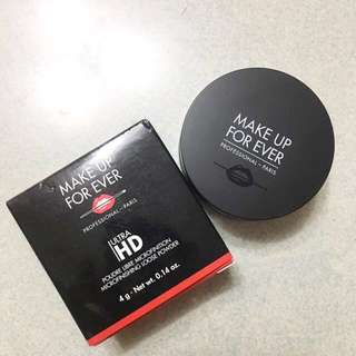 Make up forever ultra hd loose powder