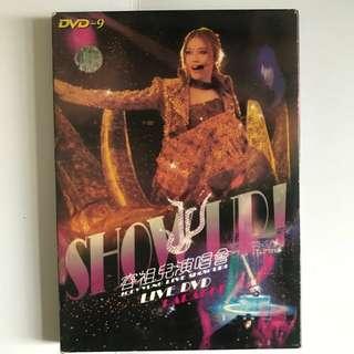 容祖兒show up演唱會Karaoke DVD