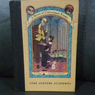 A series of Unfortunate Events:The Austere Academy