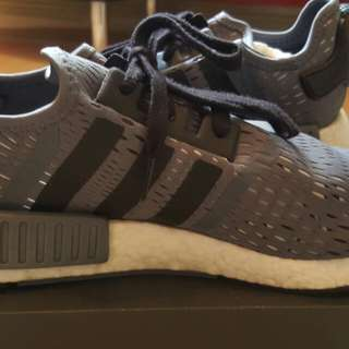 Adidas NMD R1 - Gray Black colorway- Pre owned