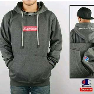 JAKET SUPREME GREY