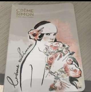 Creme Simon Notebook