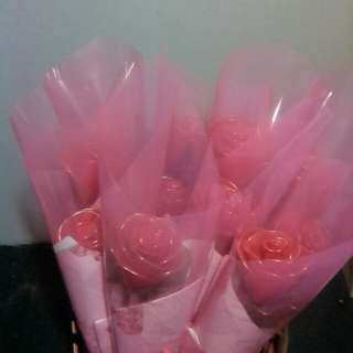 Stocking flower rose