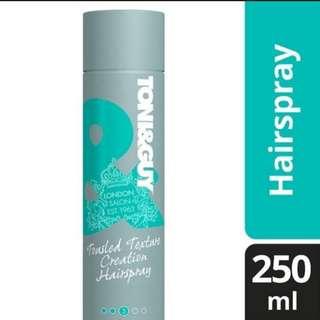 Toni & Guy Tousled Texture Creation Hairspray