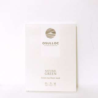 O'sulloc green tea mask