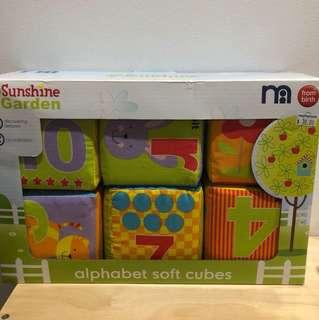Alphabet Soft Cubes