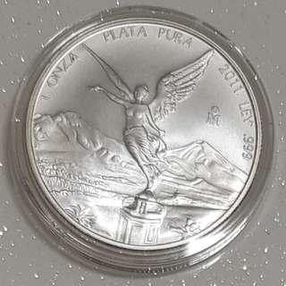 Mexico silver coin
