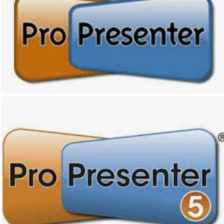 Wanted: Any version of ProPresenter