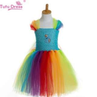 PO My Little Pony tutu dress brand new Suitable For party events size Available For 80-160cm