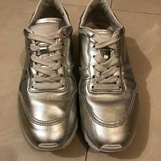 Tods silver sneaker