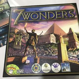 7 Wonders Board Game of the year 2010/11