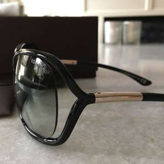Tom Ford authentic Rachel sunglasses with case and box