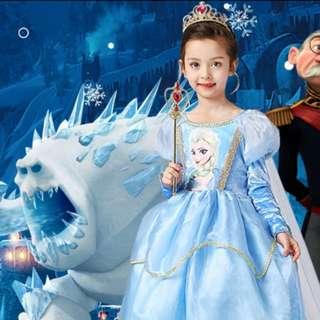 Frozen Elsa Princess Dress