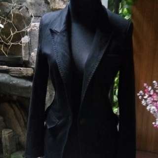 Blazer hitam uk.s-m
